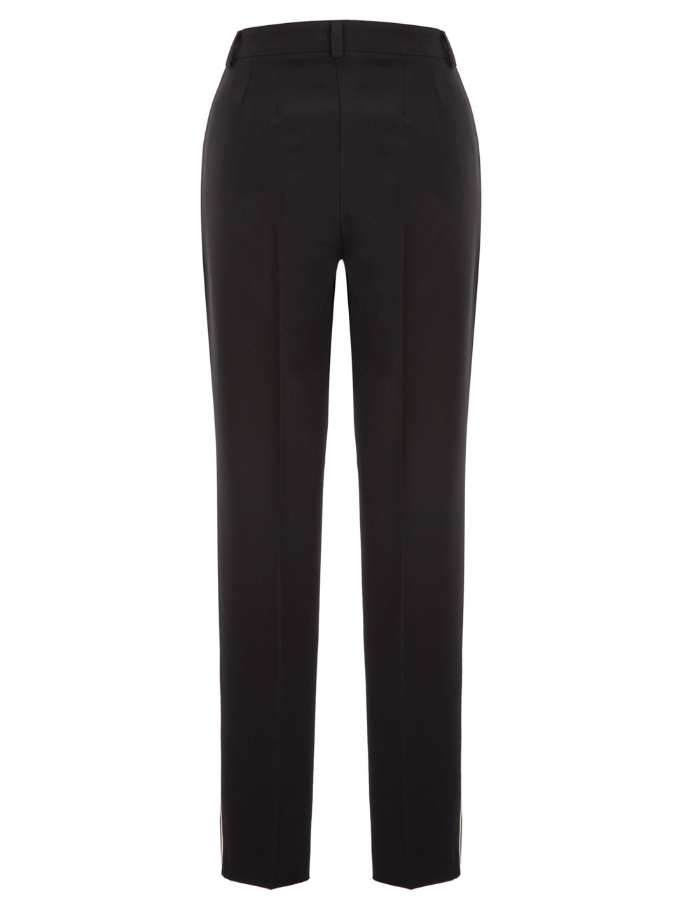 Trousers with stripe