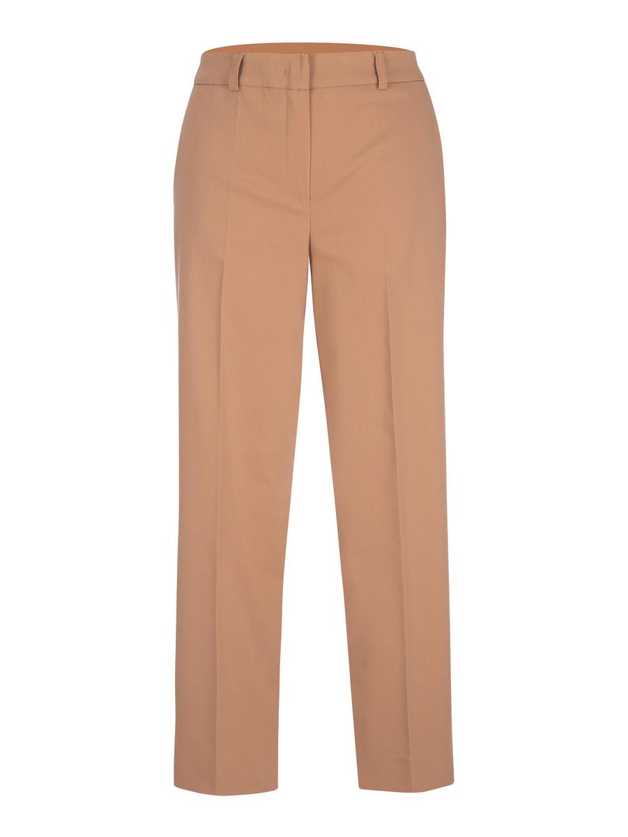 Spodnie na kant z elastycznym pasem
